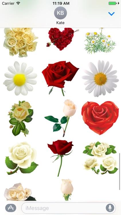 Flowers Sticker Pack!