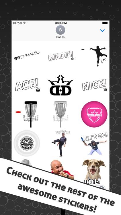 Disc Golf Stickers screenshot-4
