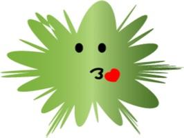 Mr. Flogree stickers by Sonam