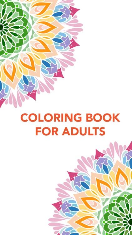 Coloring Book for Adult screenshot-3