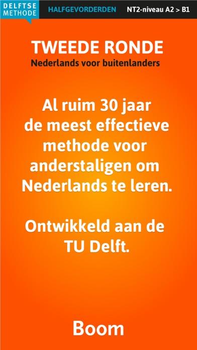 Nederlands leren, Tweede ronde screenshot two
