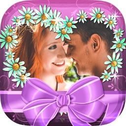 Valentine's Day Photo Frames – Free Sticker Camera