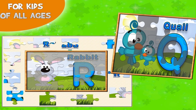 Learning ABC Puzzle for Kids screenshot-4