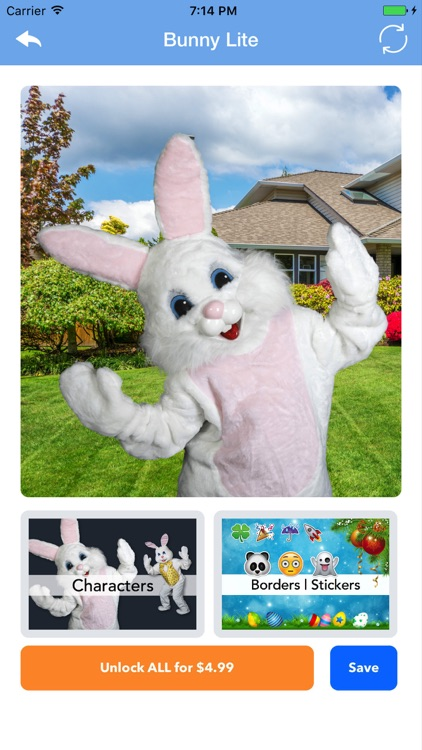 iCaughtTheEasterBunny Lite screenshot-0