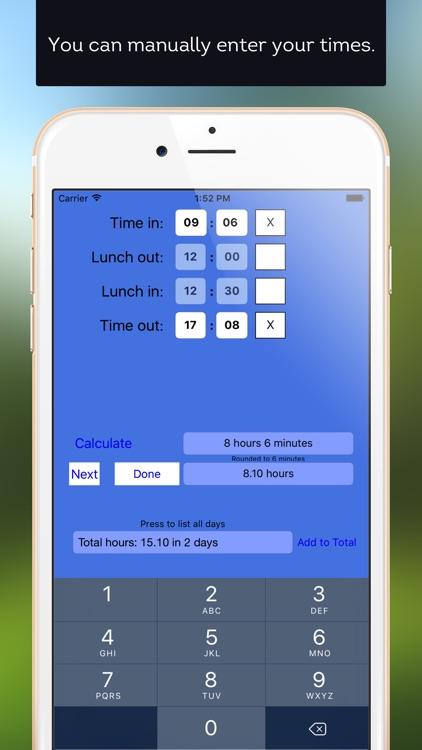 Time Clock Helper screenshot-4
