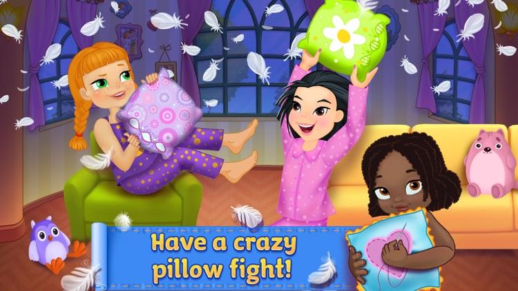 PJ Party Girl Sleepover screenshot-0