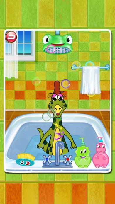 Dino Bath & Dress Up- Potty training app for kids-1