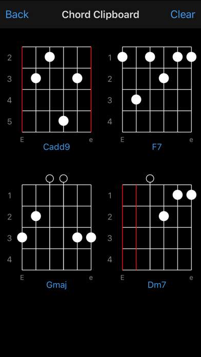 Guitar Chords screenshot two