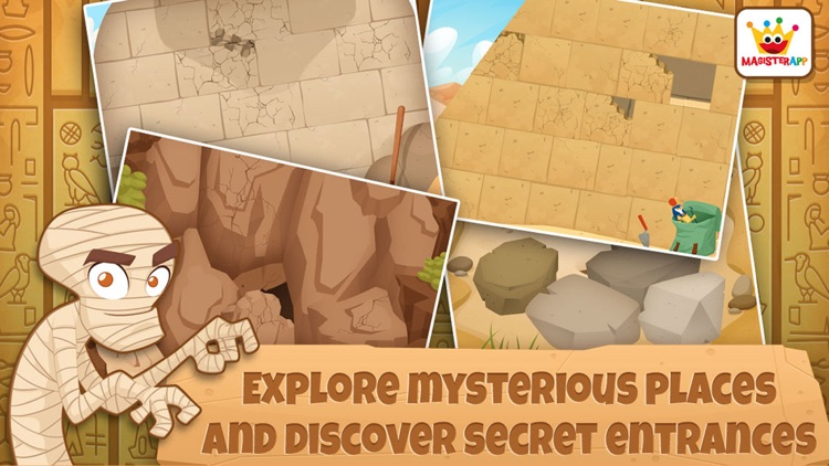 Archaeologist Egypt: Kids Games & Learning Free screenshot-4