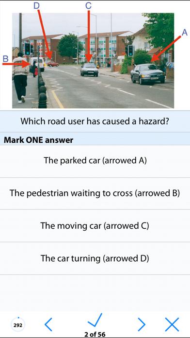 UK Motorcycle Theory Test Lite screenshot three