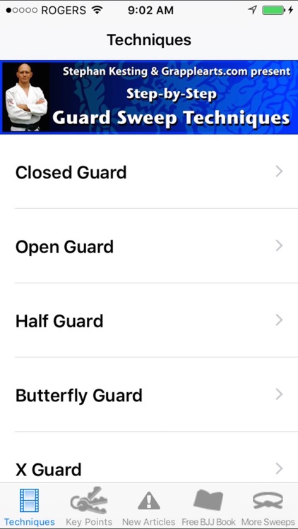 Guard Sweeps