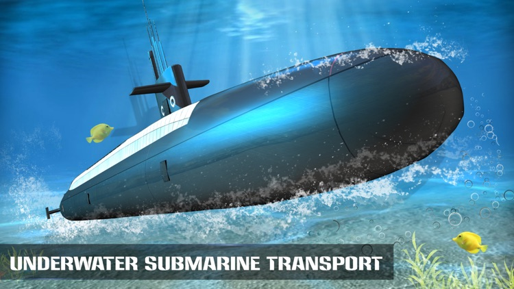 Underwater Submarine Transport Simulator