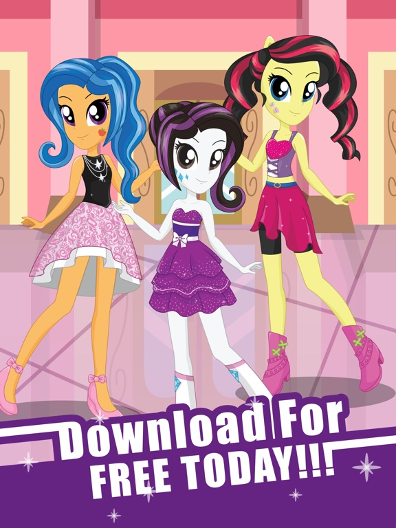 Игра Pony Dress Up Game for Girls - My Little Equestria