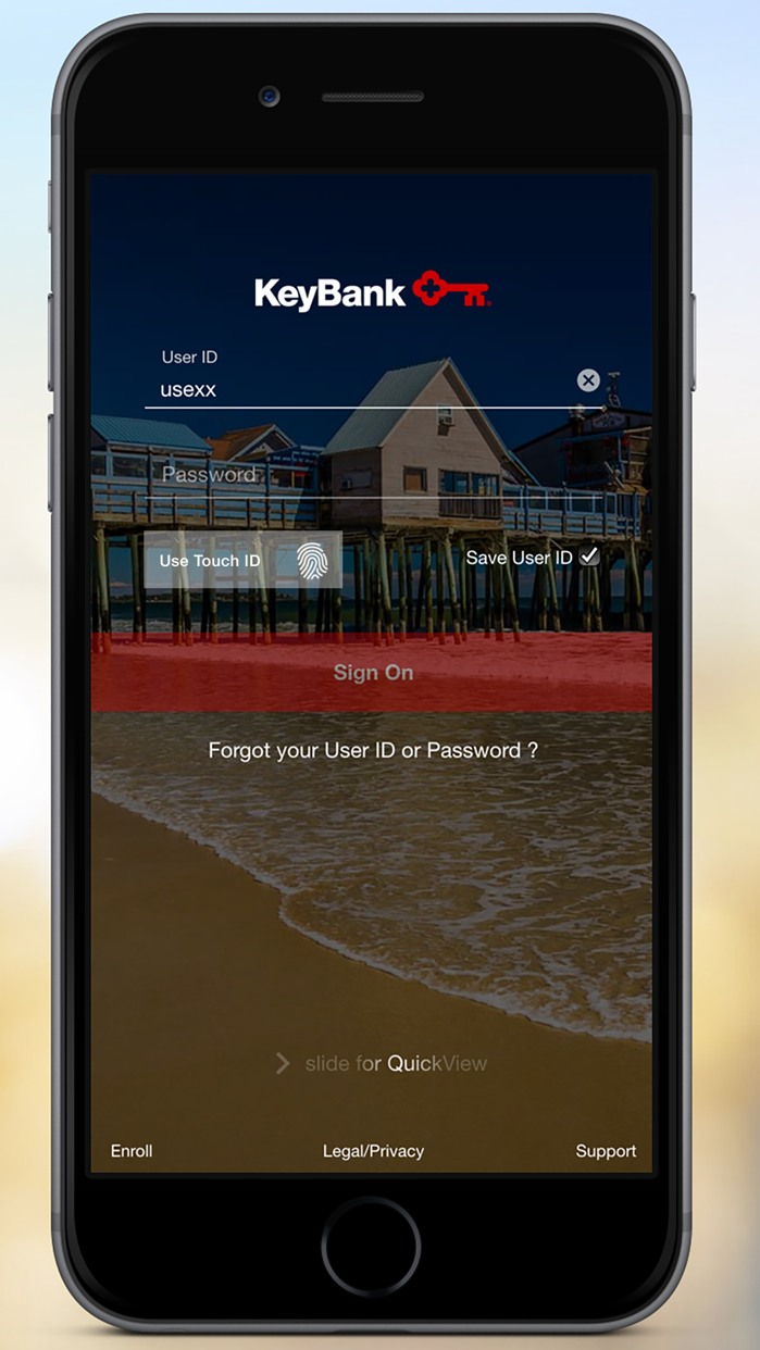 KeyBank Mobile Screenshot
