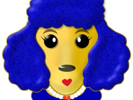 Poodle Pack 1 is the first emoji/sticker pack from the StuckUps collection of the soon to be renown image company, StickEmUp