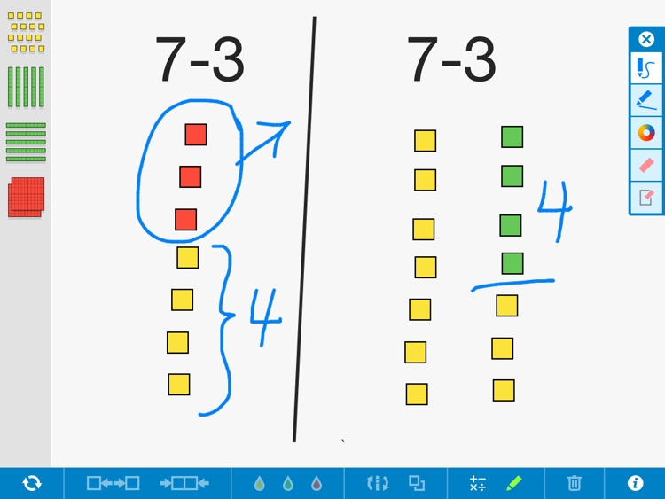 Number Pieces Basic, by the Math Learning Center
