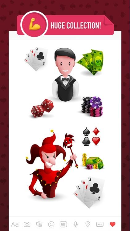 Casinomoji - stickers and emojis for casino