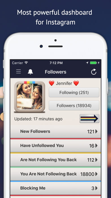 Followers Track for Instagram! app image