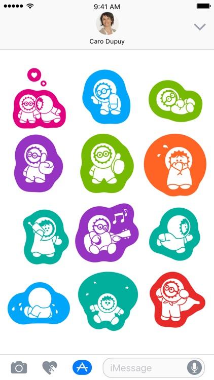 Anooki stickers