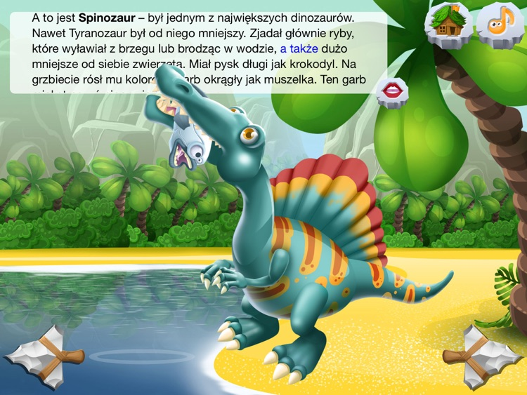 DinoClub. Świat Dinozaurów HD screenshot-1