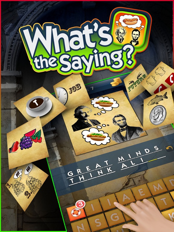 What's the Saying? - Logic Riddles & Brain Teasers-ipad-0
