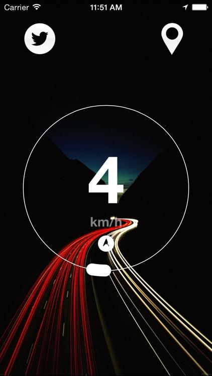 Speedometer : GPS speed tracker