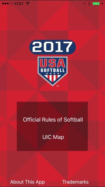 USA Softball 2017 Rulebook app image