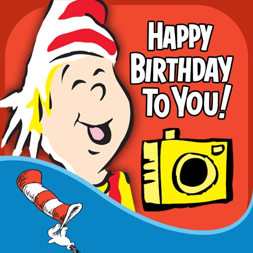Dr. Seuss Camera - Happy Birthday Edition
