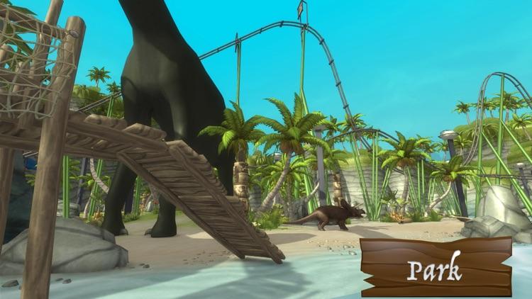 VR Jurassic - Dino Park & Roller Coaster Cardboard