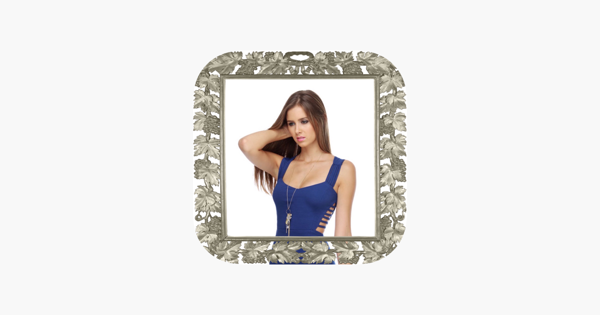 Silver Photo Frames & Photo Funia Picture Effects on the App Store