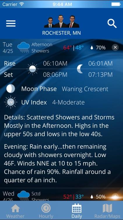 KIMT Weather - Radar & Forecasts screenshot-3