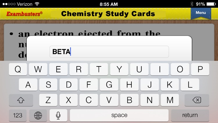 ACT Science Prep Flashcards Exambusters screenshot-4