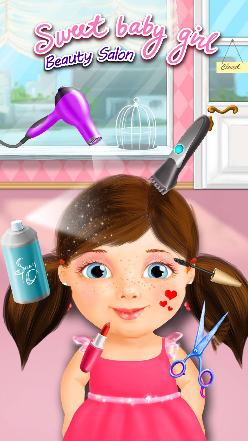 Sweet Baby Girl Beauty Salon – Manicure and Makeup