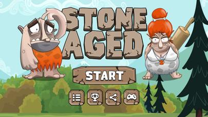 Stone Age Runner - Free Running Games