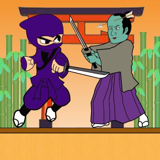 忍者 vs 落ち武者