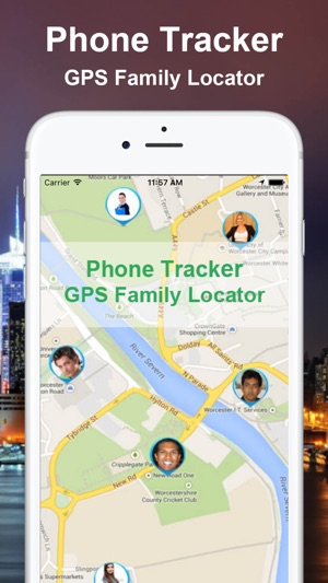Locate by GPS Kids and Friends