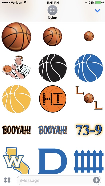 Warriors Basketball Stickers screenshot-2