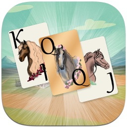 Solitaire Horse Game: Cards & Tri Peaks