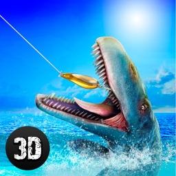 Dino Fishing Simulator 3D