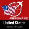 美国 旅游指南+离线地图