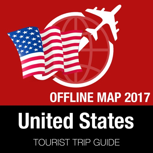 United States Tourist Guide + Offline Map