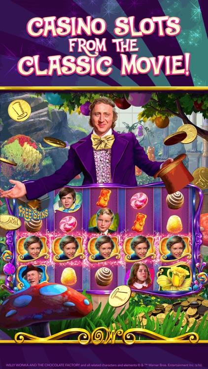 Willy Wonka Slots: Vegas Casino Slot Machines screenshot-0