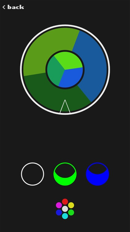 RGB - The color wheel game screenshot-3