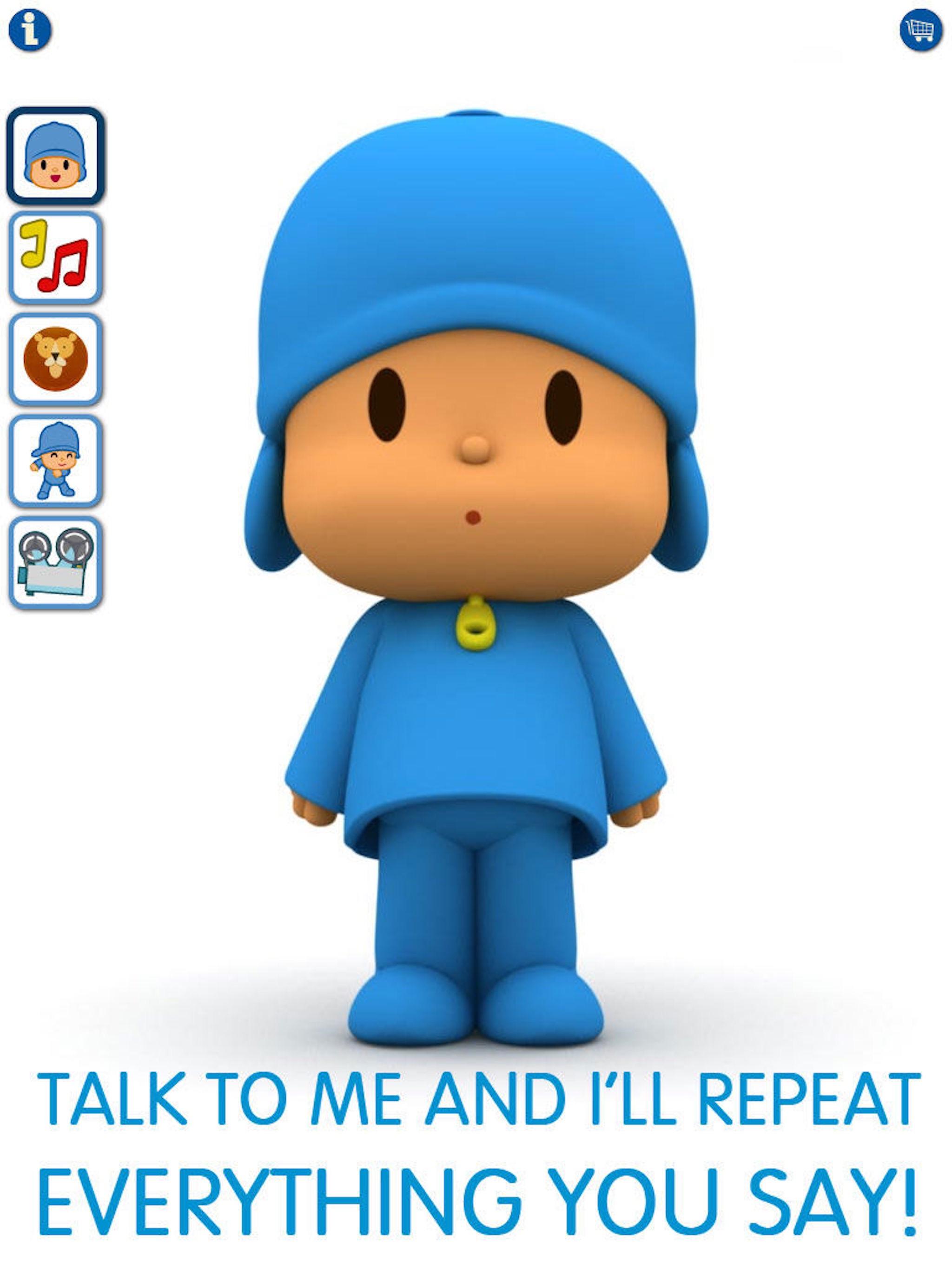 Talking Pocoyo HD Premium Screenshot
