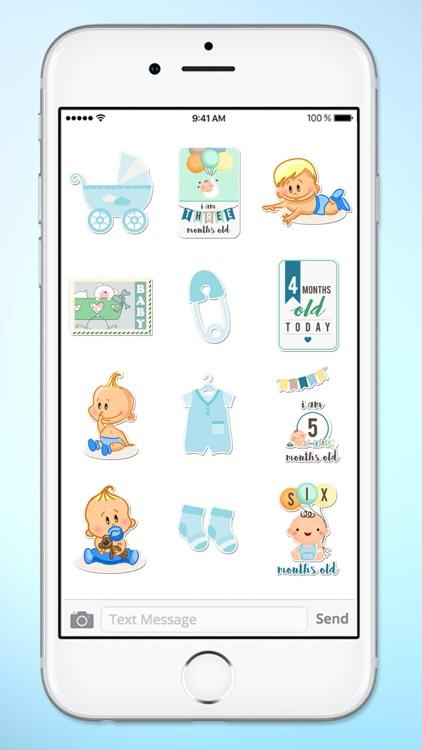 Its A Boy New Baby Sticker Pack screenshot-4