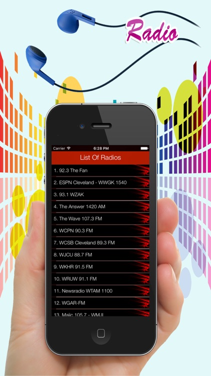 Cleveland Radios - Top Stations Music Player FM/AM