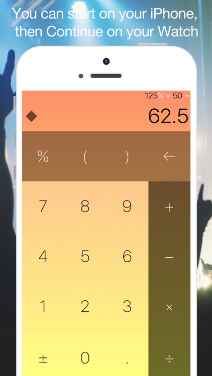 Classicalc Music - piano sound playing calculator screenshot-3