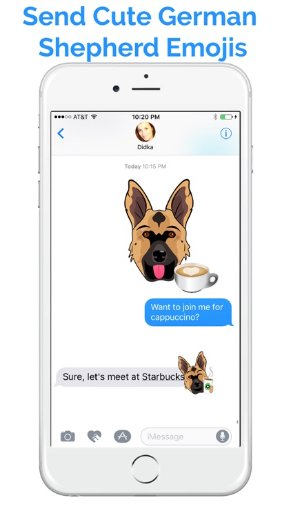 German Shep Emoji - GSD Emojis & Stickers