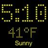 時刻・気温