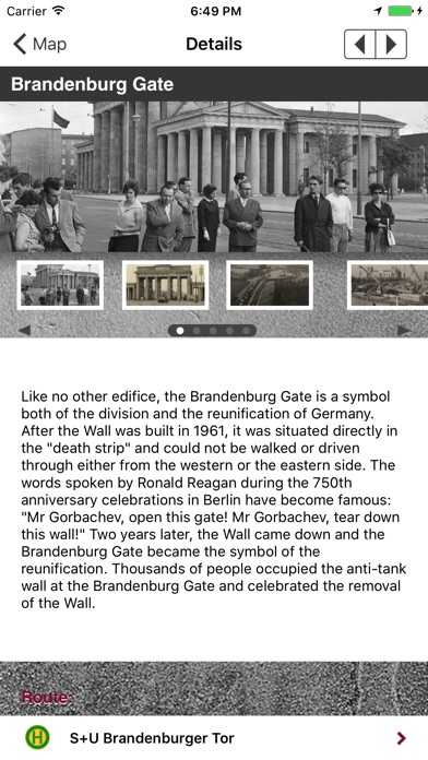 The Berlin Wall iPhone